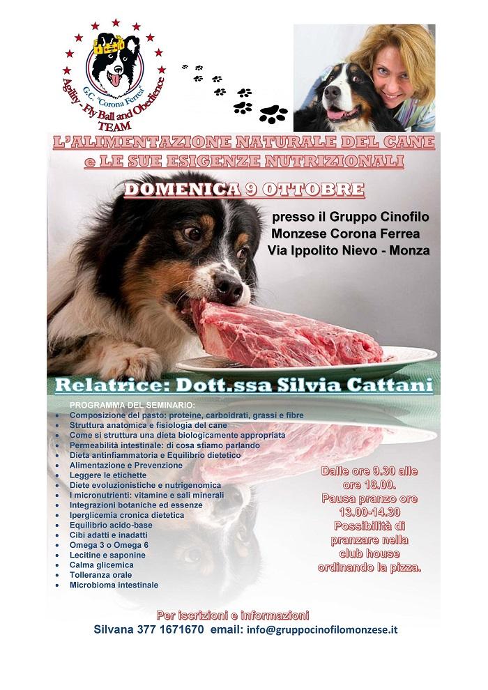 alimentazione naturale del cane