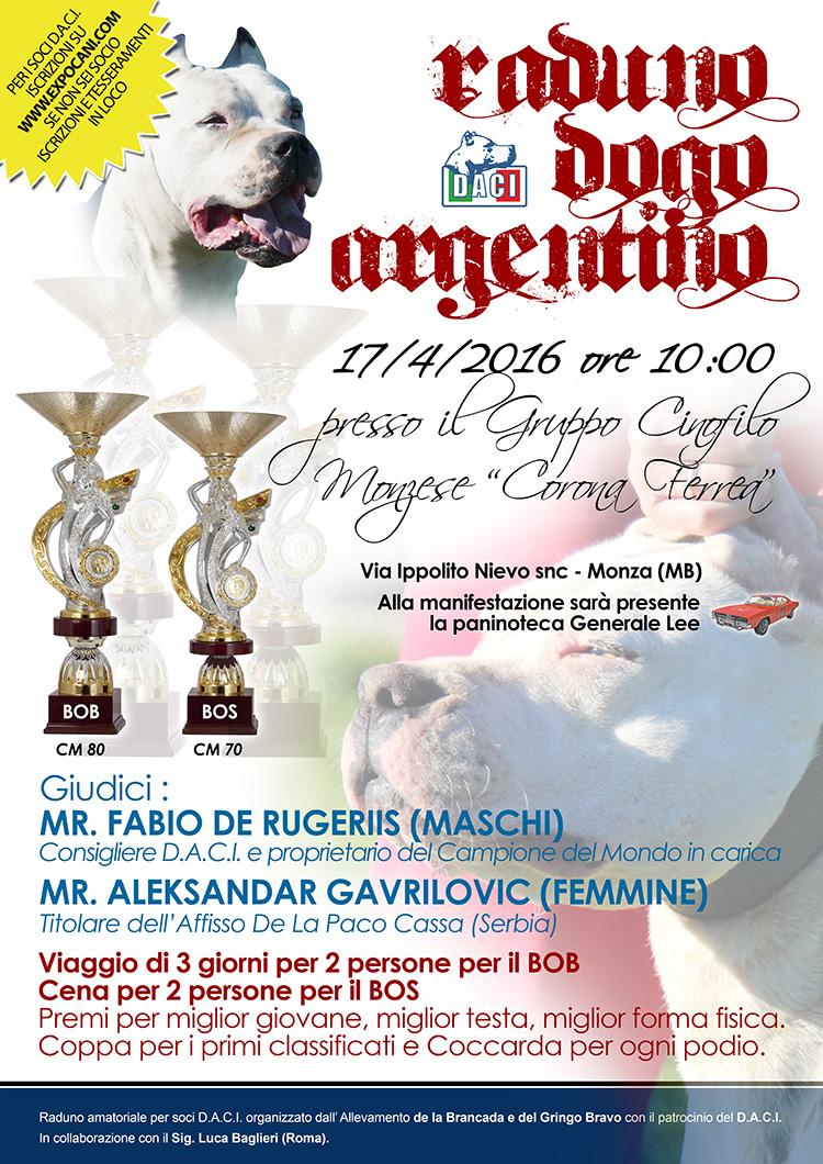 Expocani Calendario.Gruppo Cinofilo Monzese Corona Ferrea Raduno Amatoriale Di